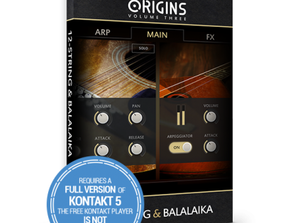 New Release | Origins Vol.3: 12-String & Balalaika