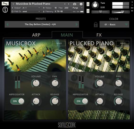 Origins Vol 2: Music Box & Plucked Piano