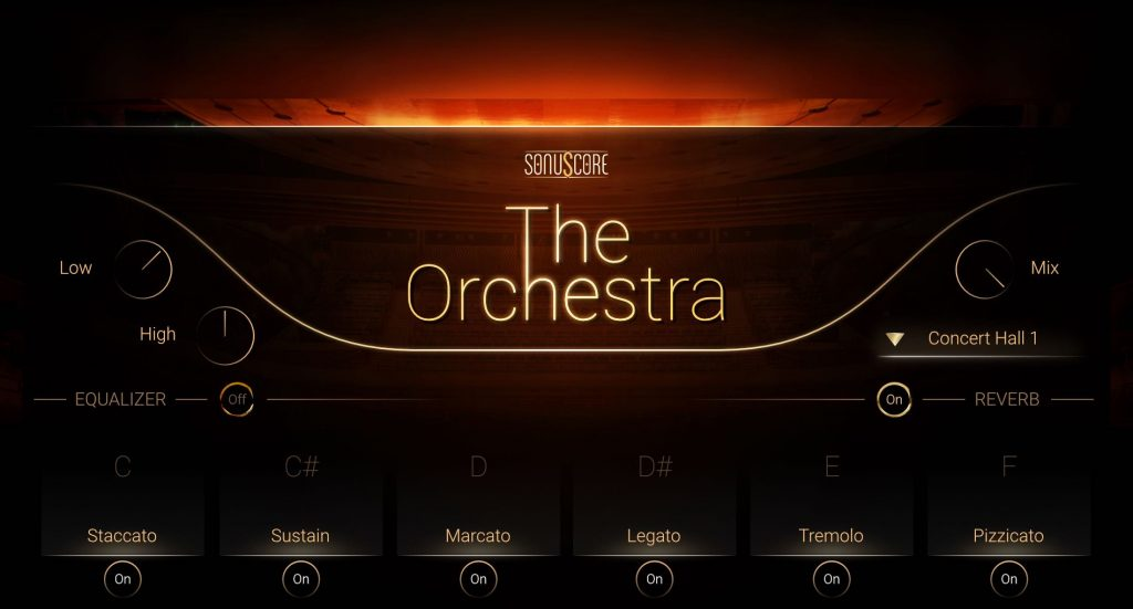 orchestra library articulations