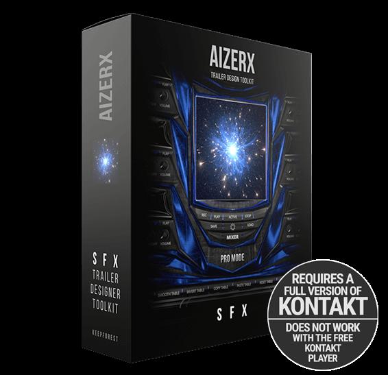 AIZERX - TRAILER SFX DESIGNER TOOLKIT