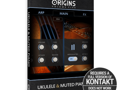 New Release | Origins Vol.5: Ukulele & Muted Piano