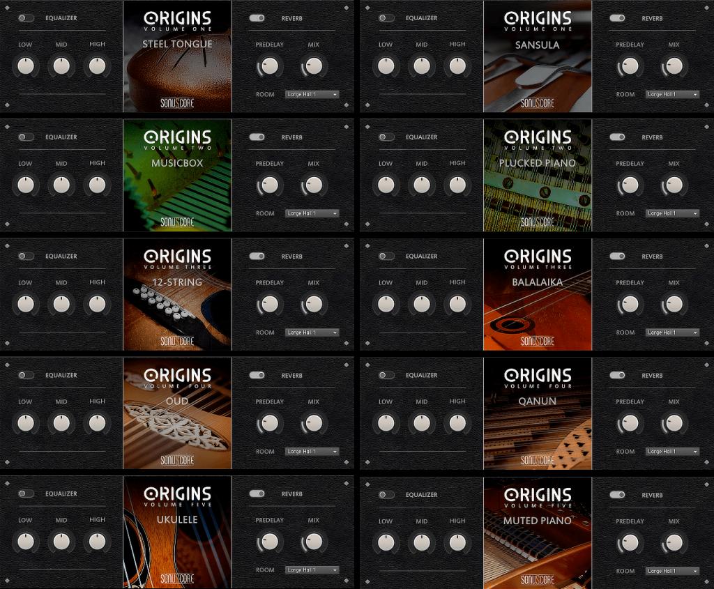 ethnic vst instrument - origins bundle
