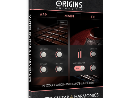 New Release | Origins Vol. 6: Muted Guitar & Harmonics