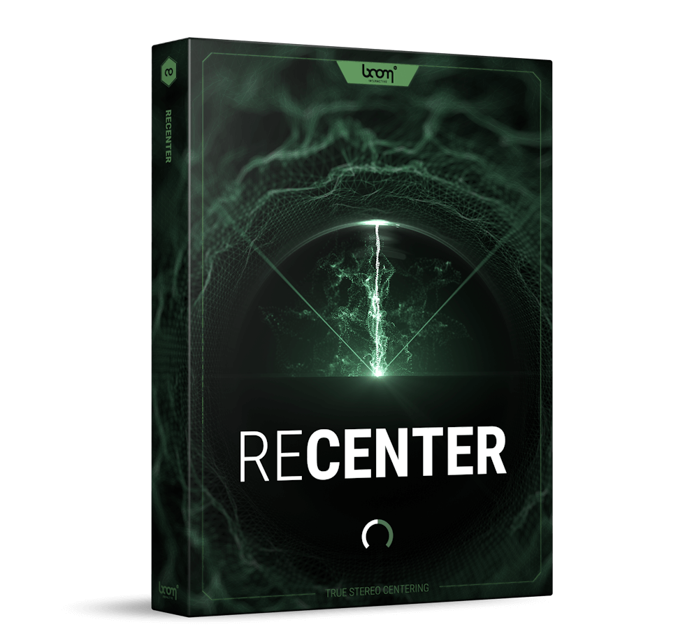 BOOM Library PlugIn ReCenter Stereo Fix Product Packshot