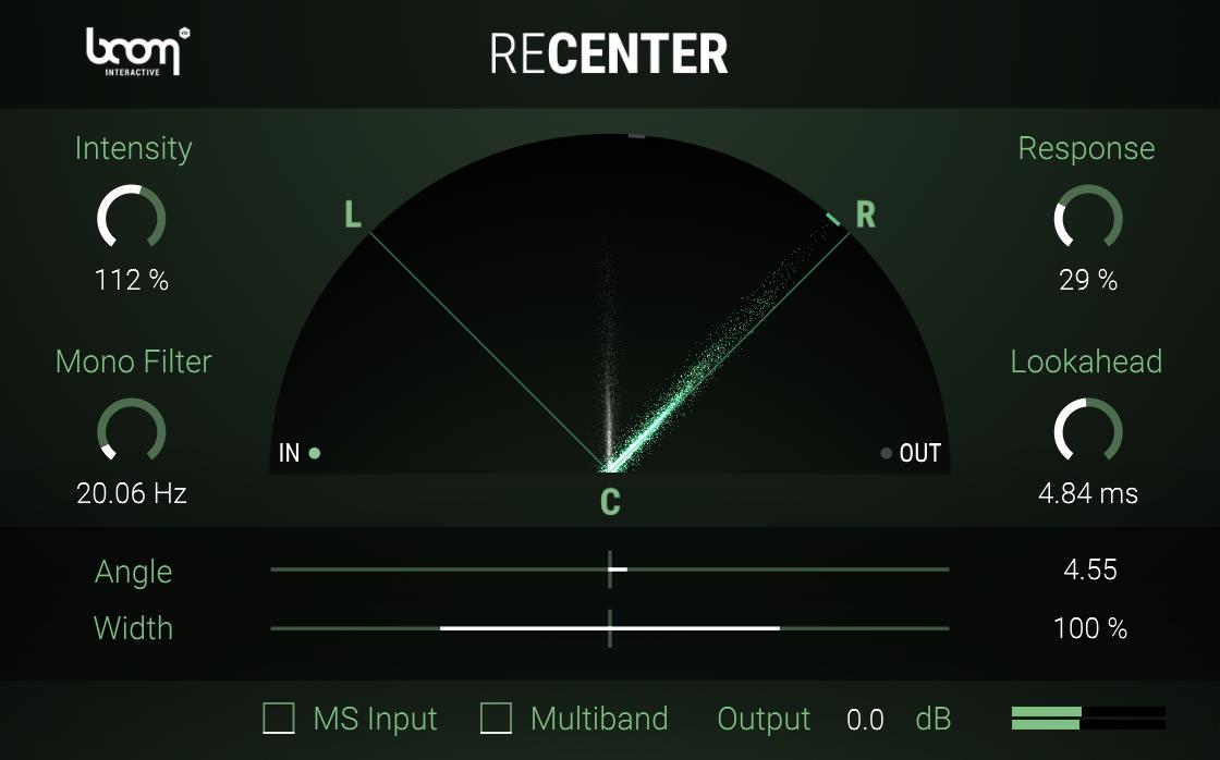 ReCenter Stereo Fix BOOM Library Screenshot 02