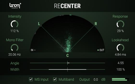 ReCenter Stereo Fix BOOM Library Screenshot 03