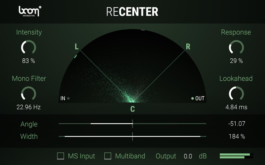 ReCenter Stereo Fix BOOM Library Screenshot 04
