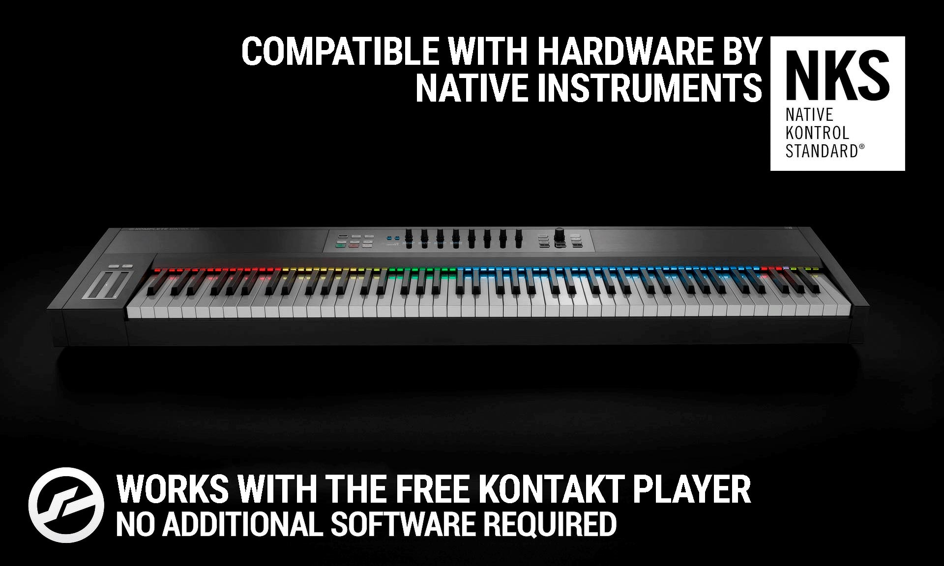Native Kontrol Standard Ready - Works With the Free Kontakt Player