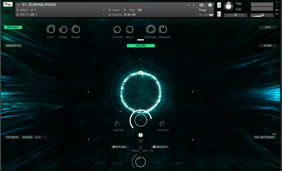Screenshot Senfine by Wavelet Audio