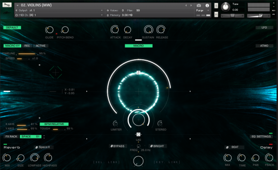 Screenshot Senfine by Wavelet Audio