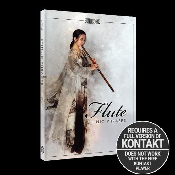 Ethnic Flute Phrases Packshot Requires Full Version of Kontakt