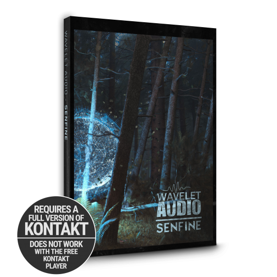 Senfine Packshot Requires Full Version of Kontakt