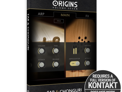 New Release | Origins Vol. 7: Tar and Chonguri