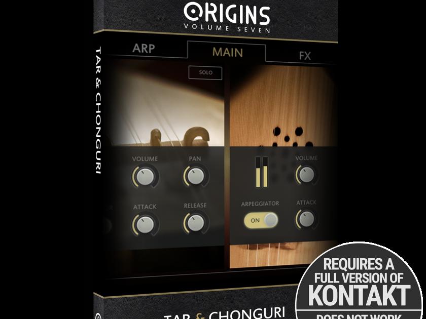 New Release | Origins Vol. 7: Tar and Chonguri