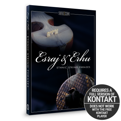Esraj & Erhu - Ethnic String Phrases by Sonuscore Packshot