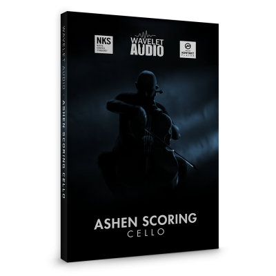 Ashen Scoring Cello by Wavelet Audio Packshot