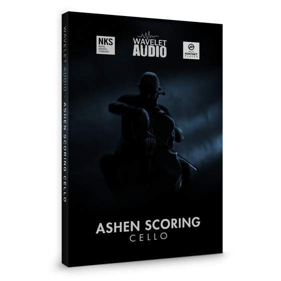 Ashen Scoring Cello by Wavelet Audio Packshot