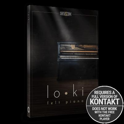 loki Packshot - felt piano - virtual piano