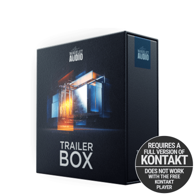 Wavelet Audio Trailer BOX Packshot