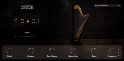 hapi concert harp screenshot