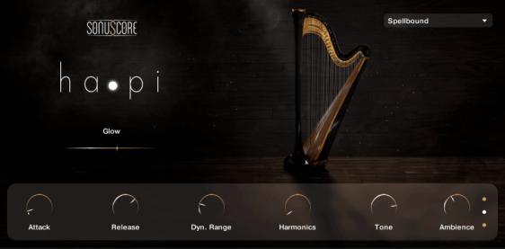 hapi concert harp screenshot