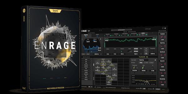 EnRage Packshot + Screenshot