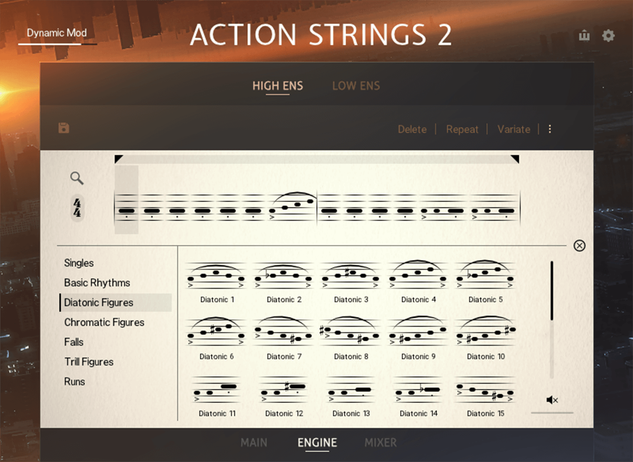 Sonuscore Native Instruments Action Strings 2 Screenshot Module Browser