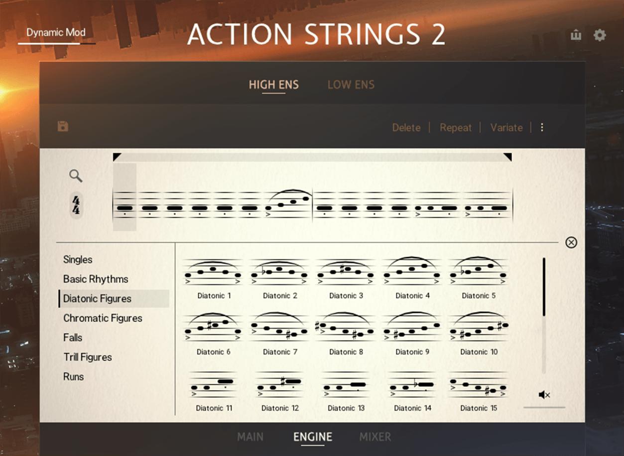 Sonuscore Native Instruments Action Strings 2 Screenshot Module Browser