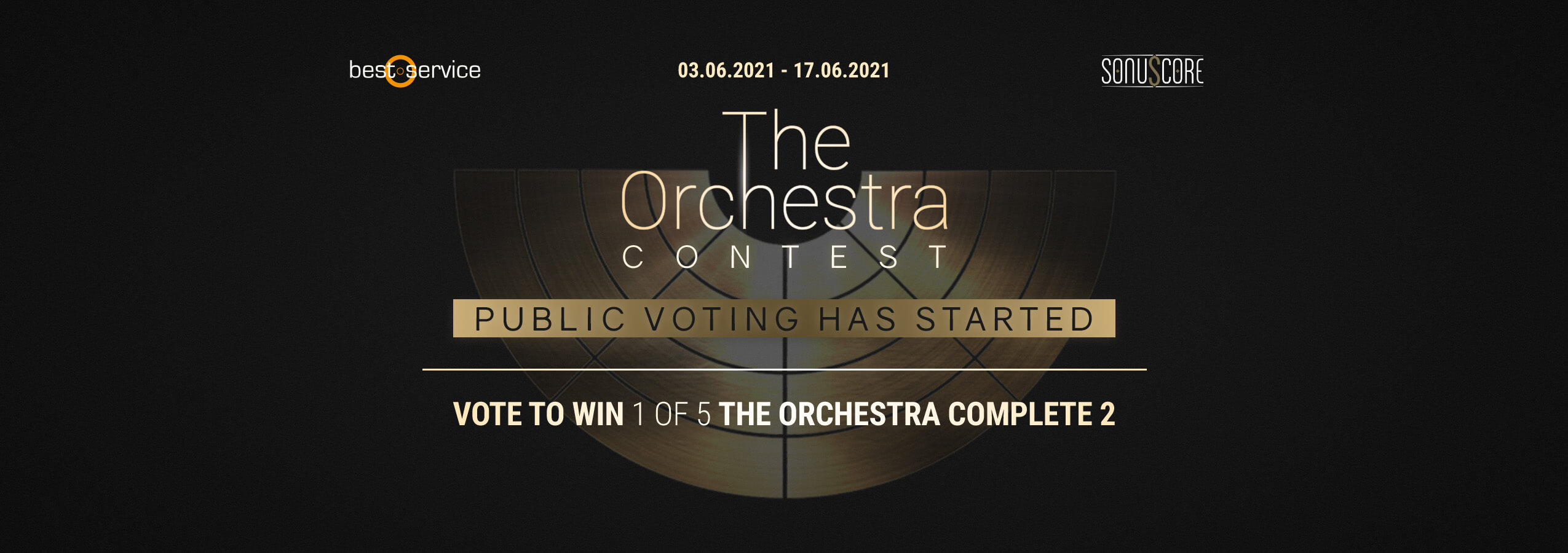 The Orchestra Contest Header - Voting Phase