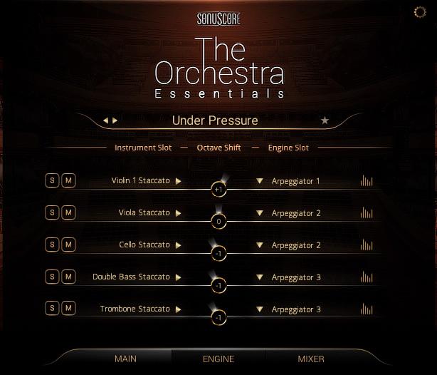 The Orchestra Essentials GUI